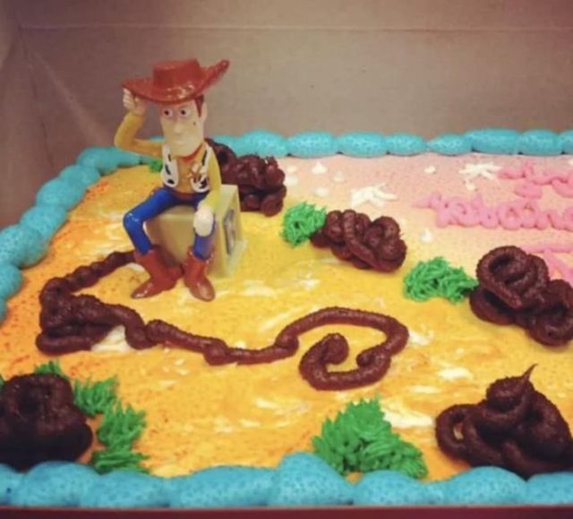 """торт в стиле """"история игрушек"""""""