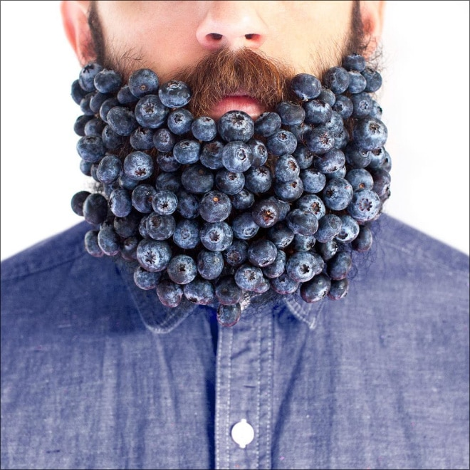 черника в бороде