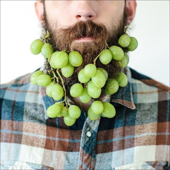 виноград в бороде