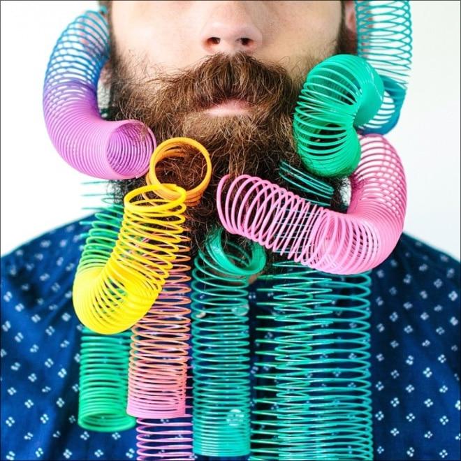 пружина в бороде