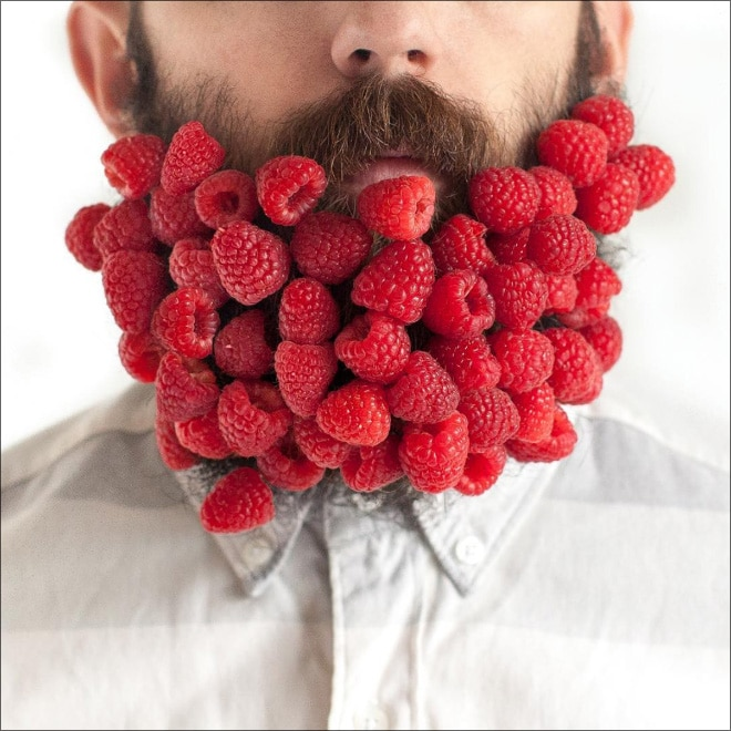 малина в бороде