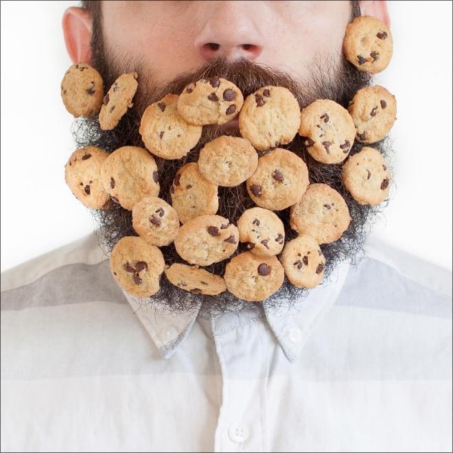 печенье в бороде
