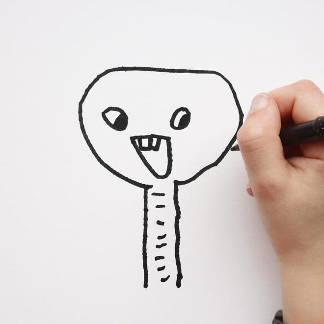 детский рисунок слона