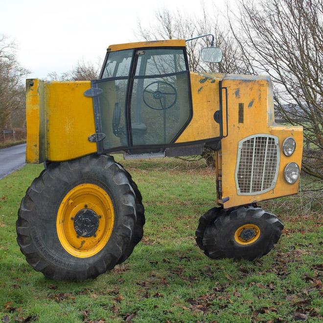 трактор фотошоп