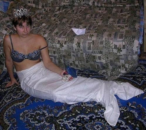 женщина русалка