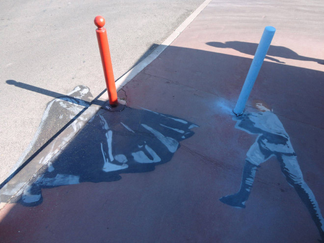 """граффити в стиле """"Звездных войн"""""""