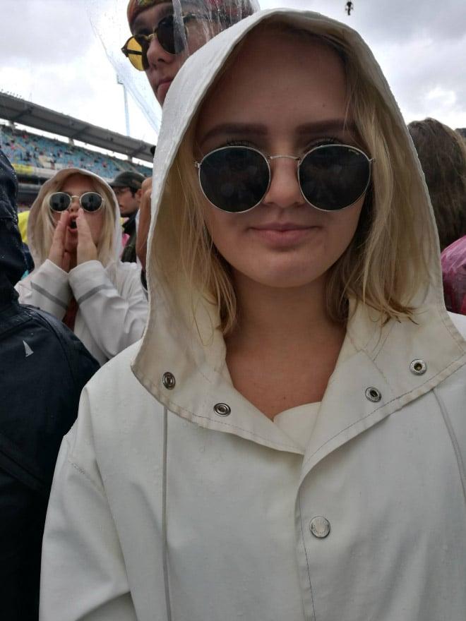 селфи девушек в очках