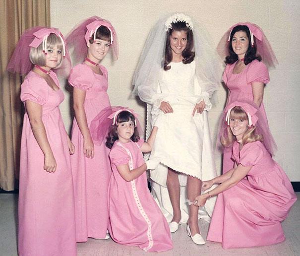 подружки невесты в розовых платьях рис 2