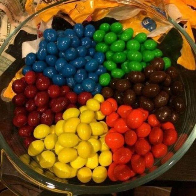 конфеты m&m