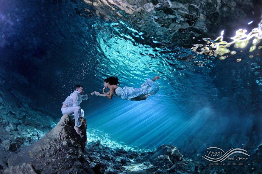 влюбленная пара фото под водой рис 8