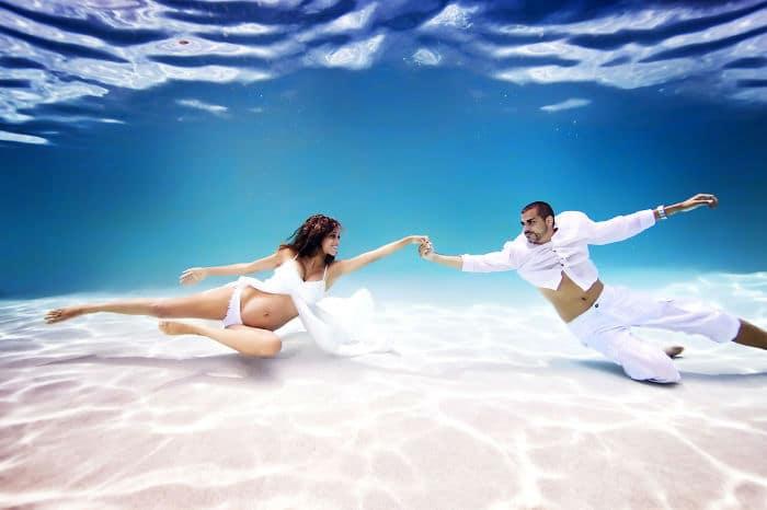 фото беременная под водой рис 5
