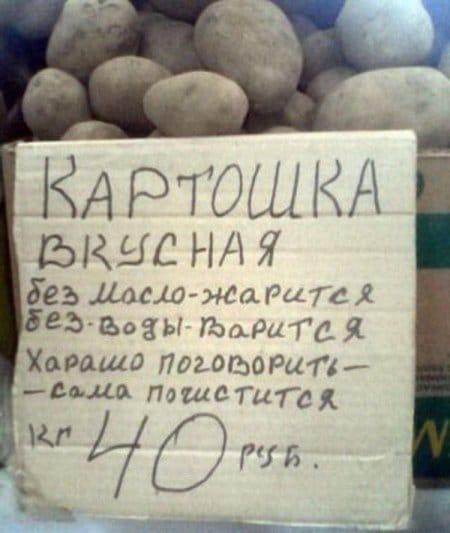 продажа картошки