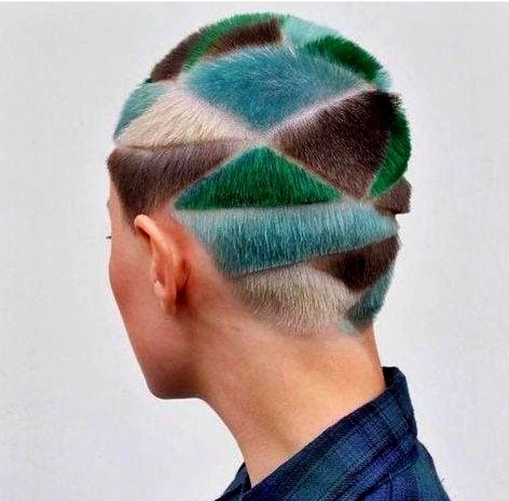 яркие волосы рис 2
