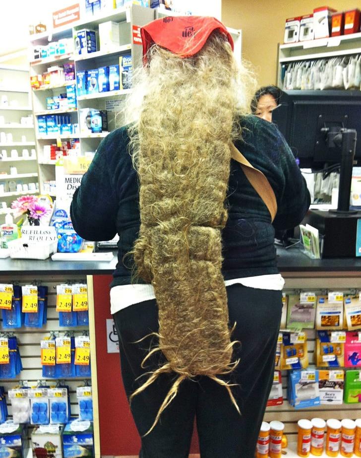 неухоженные волосы