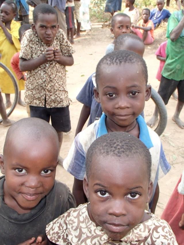 чернокожие дети