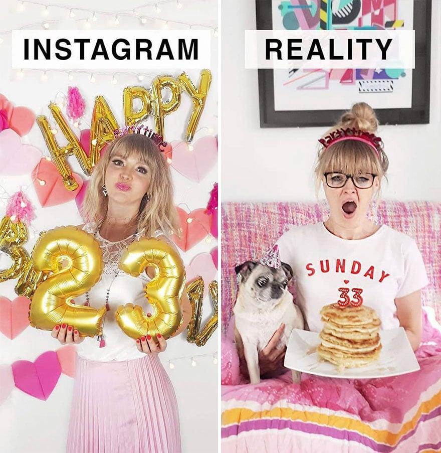 Инстаграм и жизнь: день рождения