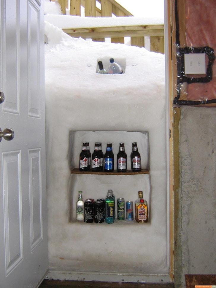 охладить напитки