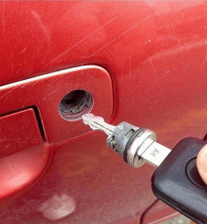 сломался ключ авто