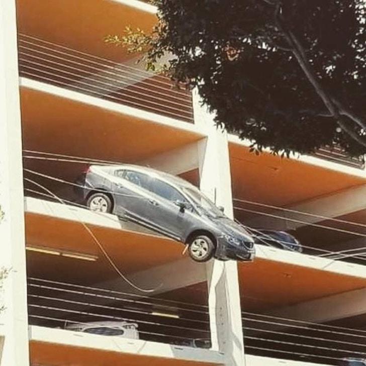 падение авто