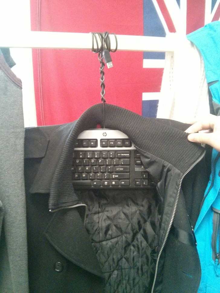клавиатура вместо тремпеля