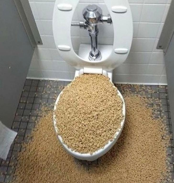 фото в туалете