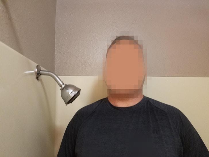 необычный душ