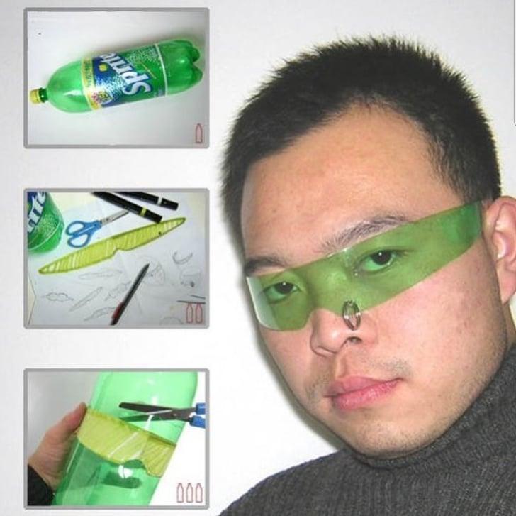 очки из пластика