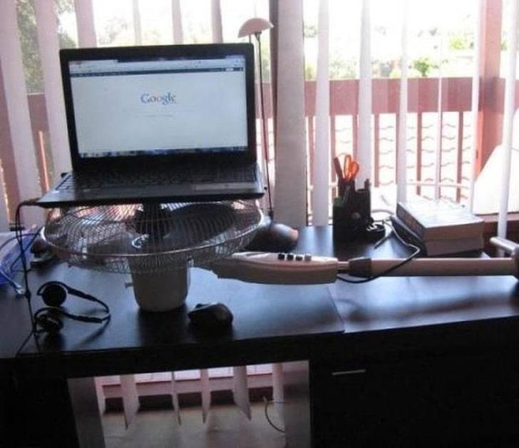 охлаждение ноутбука