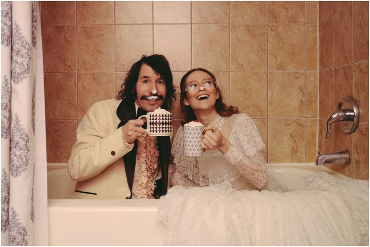 Эрин и Стив в ванне