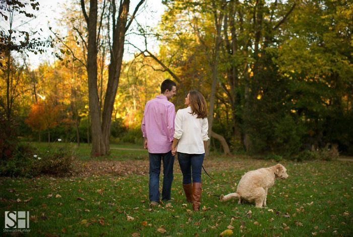 свадебные фото, свадебные фото с животными рис 9