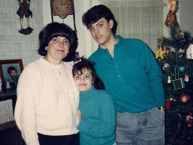семейное фото: мама с детьми рис 2