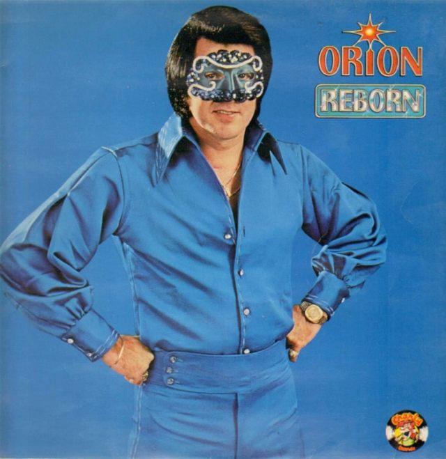 музыкальная обложка: мужчина в маске