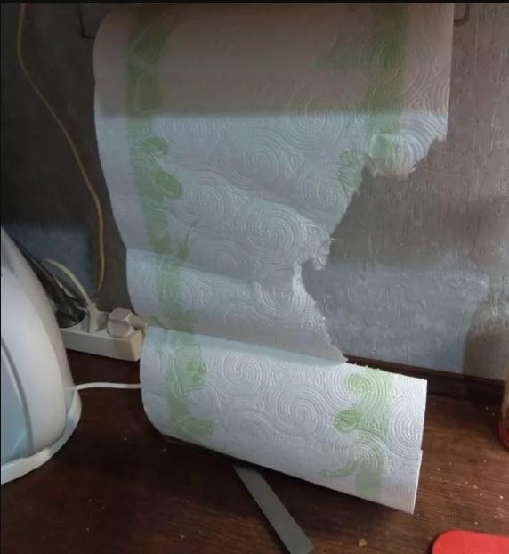 бумажное полотенце