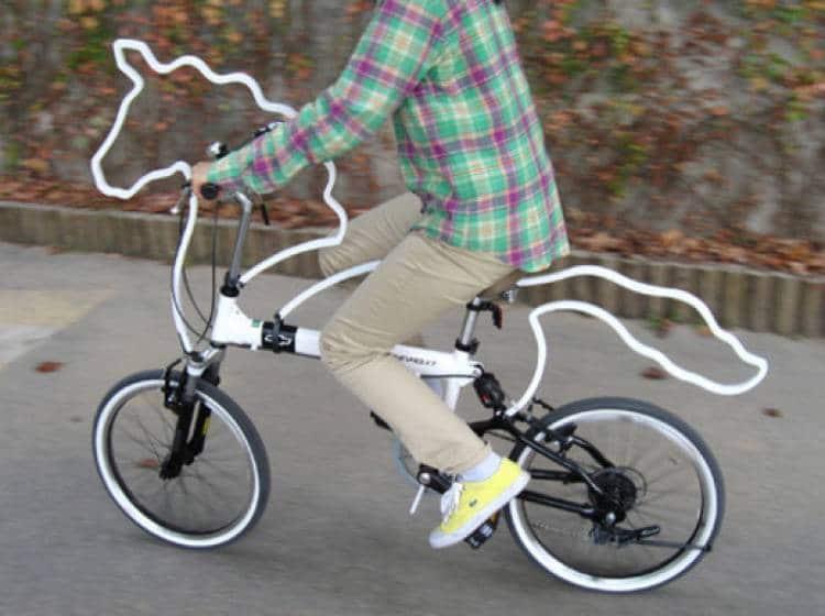 велосипед в форме лошади