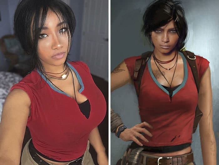 Хлоя Фрейзер из игры «Uncharted»