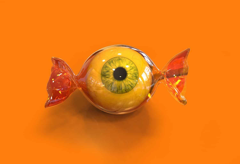глаз в обертке