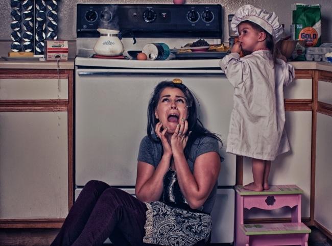 мама, мама фото, мама и дочь, мама будни рис 6