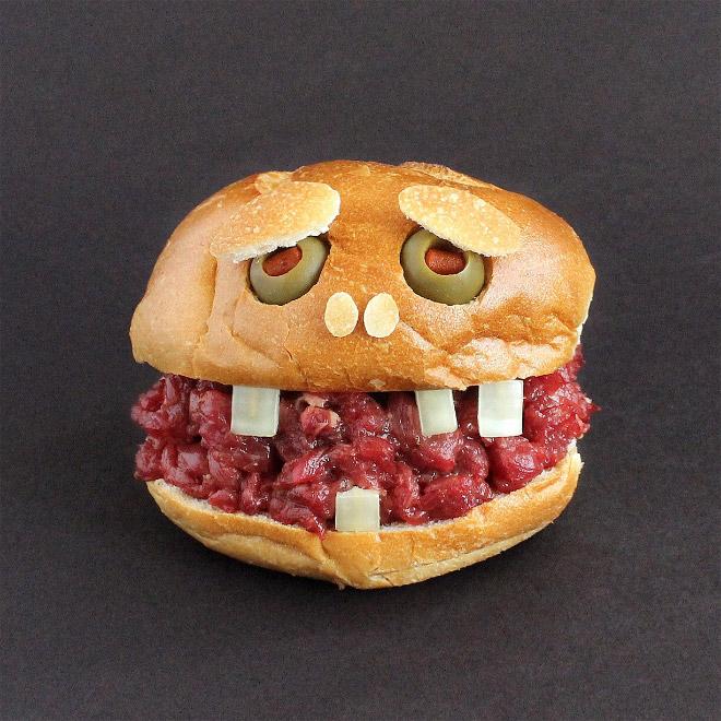 грустный бургер