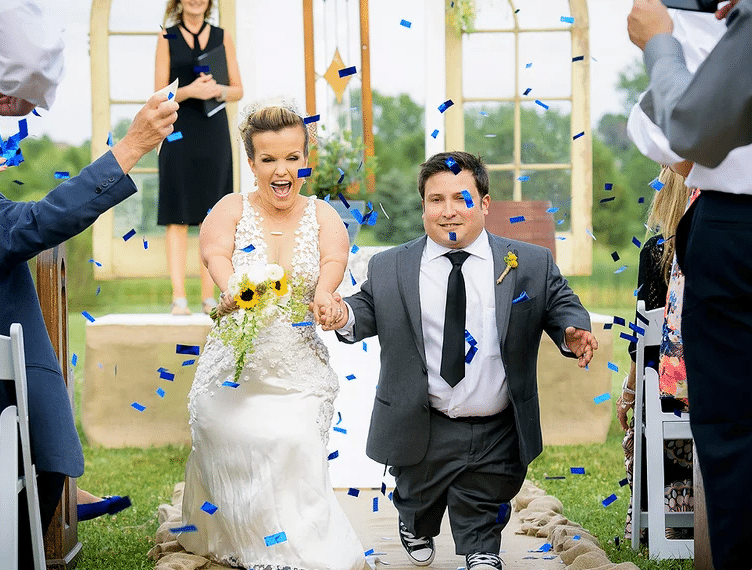 знаменитые лилипуты свадьба