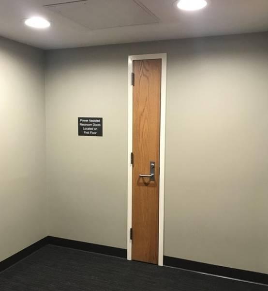 узкая дверь