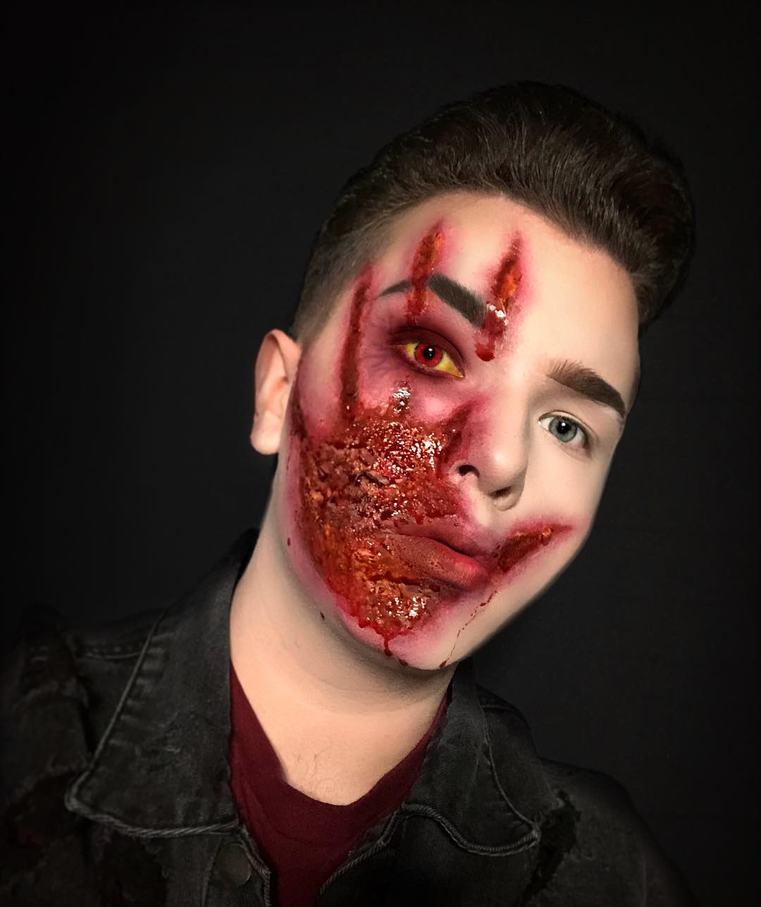 хэллоуин, хэллоуин 2018, хэллоуин фото, хэллоуин макияж рис 10