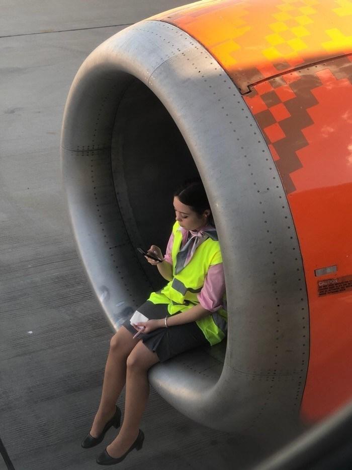 работник аэропорта