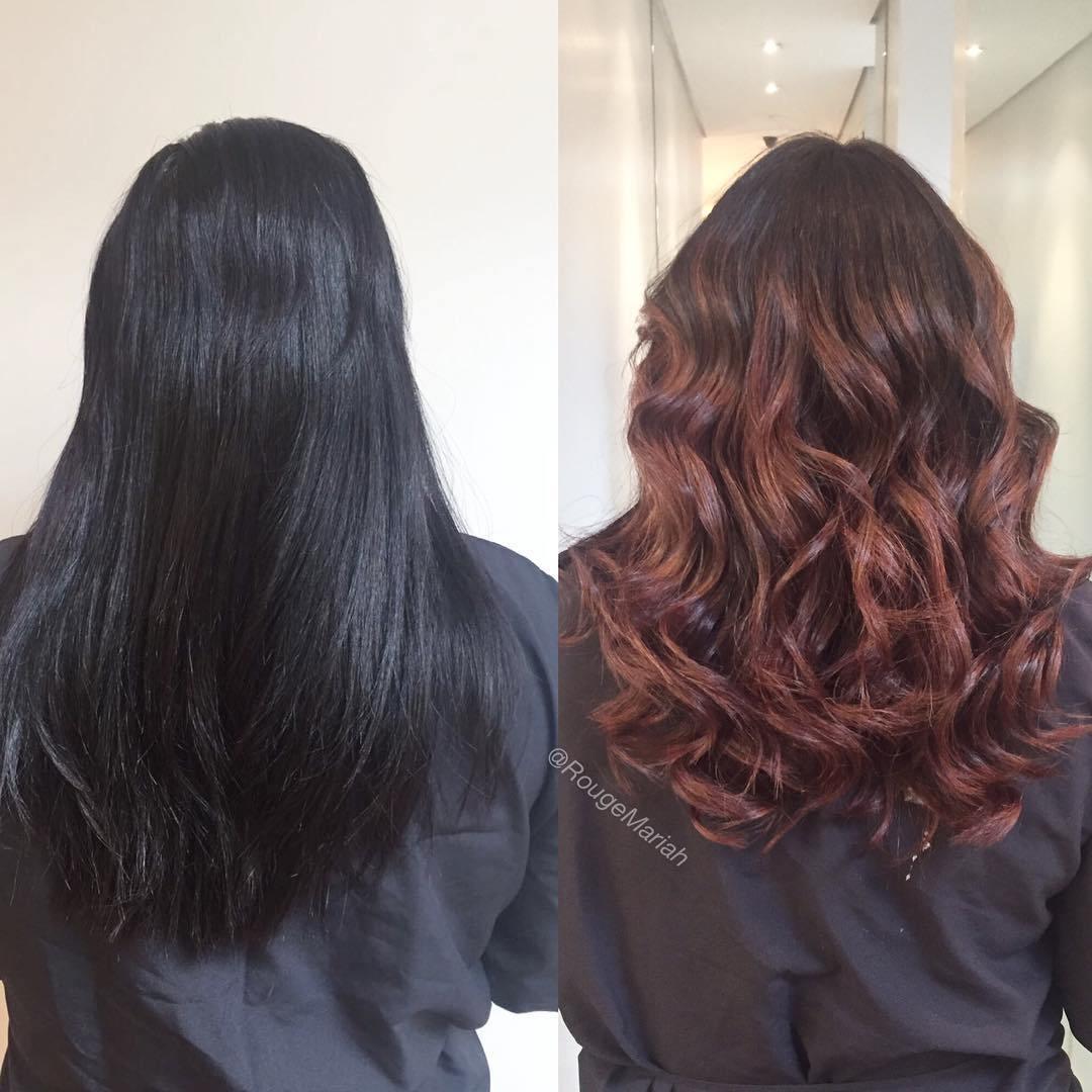 до и после: преображение волос