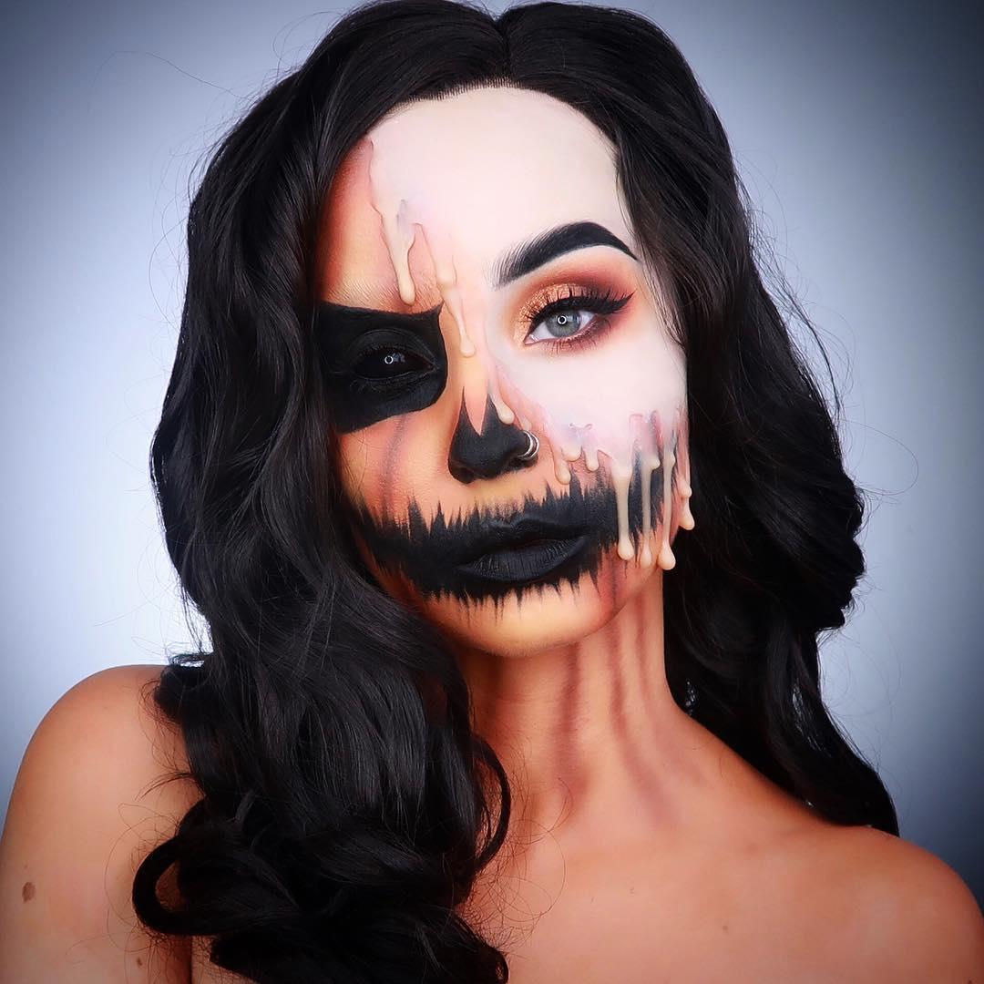 хэллоуин, хэллоуин 2018, хэллоуин фото, хэллоуин макияж рис 2
