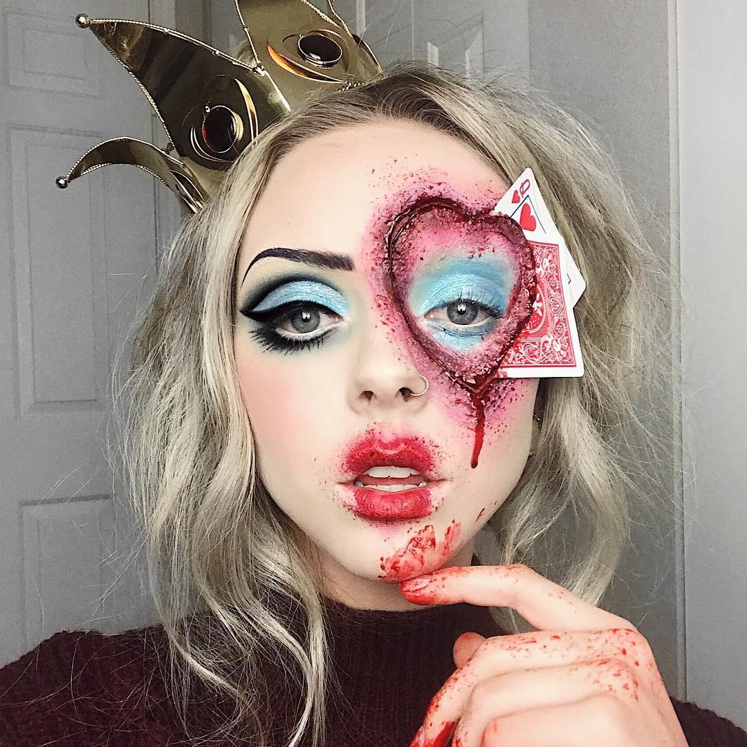 хэллоуин, хэллоуин 2018, хэллоуин фото, хэллоуин макияж рис 3