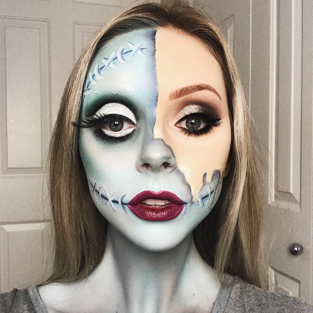 хэллоуин, хэллоуин 2018, хэллоуин фото, хэллоуин макияж рис 4