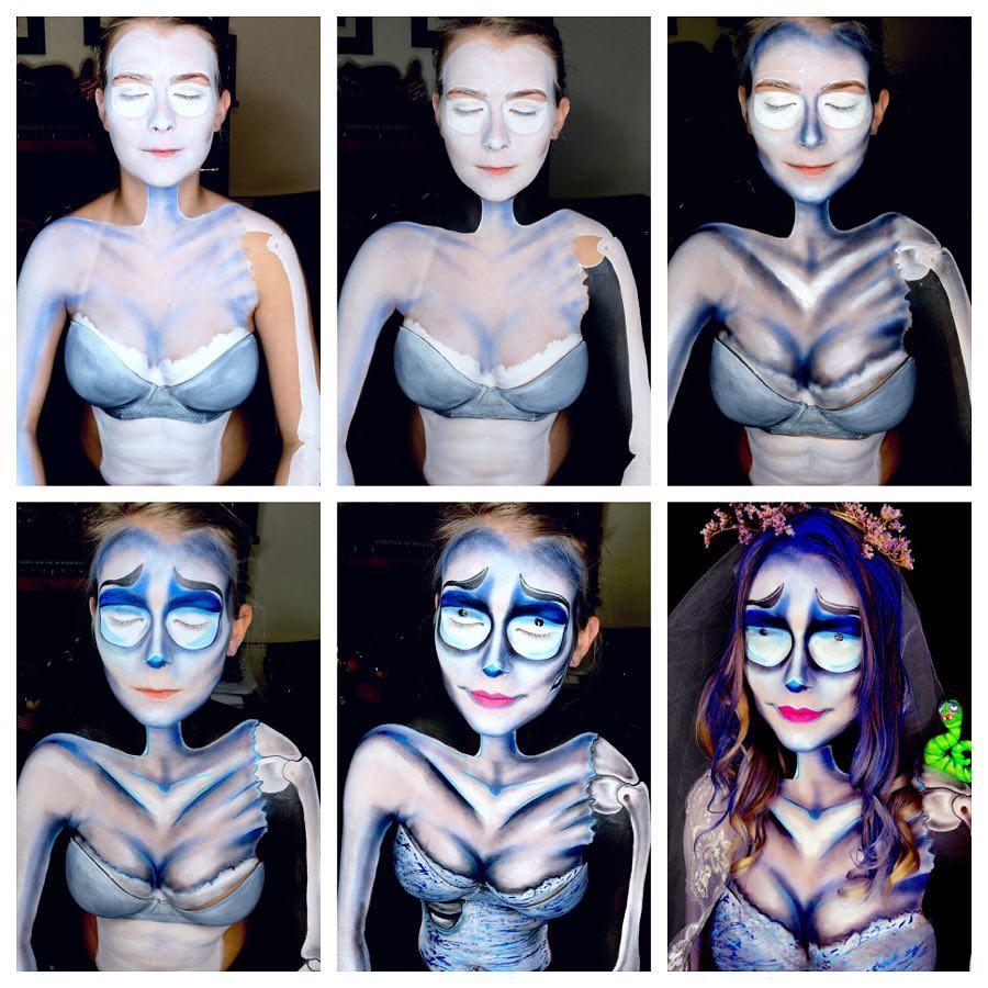 хэллоуин, хэллоуин 2018, хэллоуин фото, хэллоуин макияж рис 5