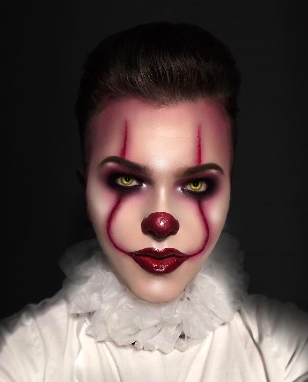 хэллоуин, хэллоуин 2018, хэллоуин фото, хэллоуин макияж рис 6