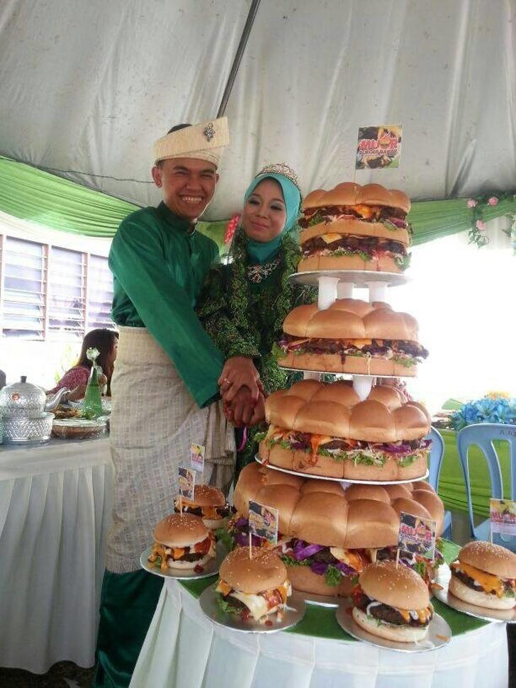 свадебный торт рис 2