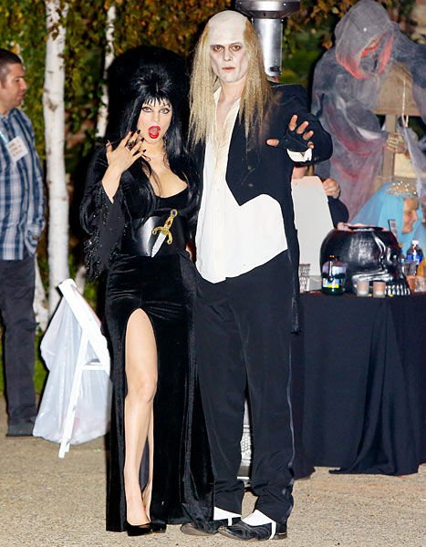 ферги и джош дюамель в костюмах на хэллоуин